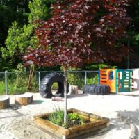THE GARDEN & NATURAL OUTDOOR PLAYSPACE