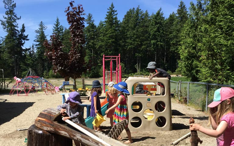 Summer daycare programs for kids on the Coast